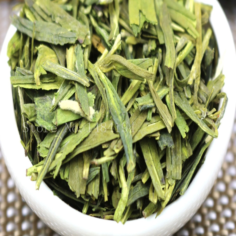 Famous Good Quality Dragon Well 2019 Spring Green Tea For Health Care  Green  Food