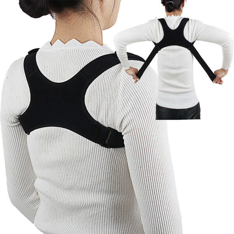 2019 Newest Chest Support Belt Back Shoulder Posture Corrector Therapy <font><b>Humpback</b></font> Brace Bone Care Corrector Supports Dropshipping image