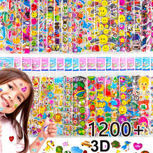 Kids Stickers 40 20 Different Sheets 3D Puffy Bulk Stickers for Girl Boy Birthday Gift