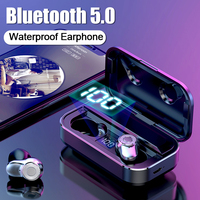 H&A NEW Bluetooth V5.0 Wireless Earphone Bluetooth Headphone Hifi Stereo Sport Earbuds Headset Earphones For iOS Android Phones