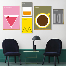 Abstract Prints Poster Geometric Colorful Posters And Vogue Canvas Print Painting Pictures For Living Room Home Decor