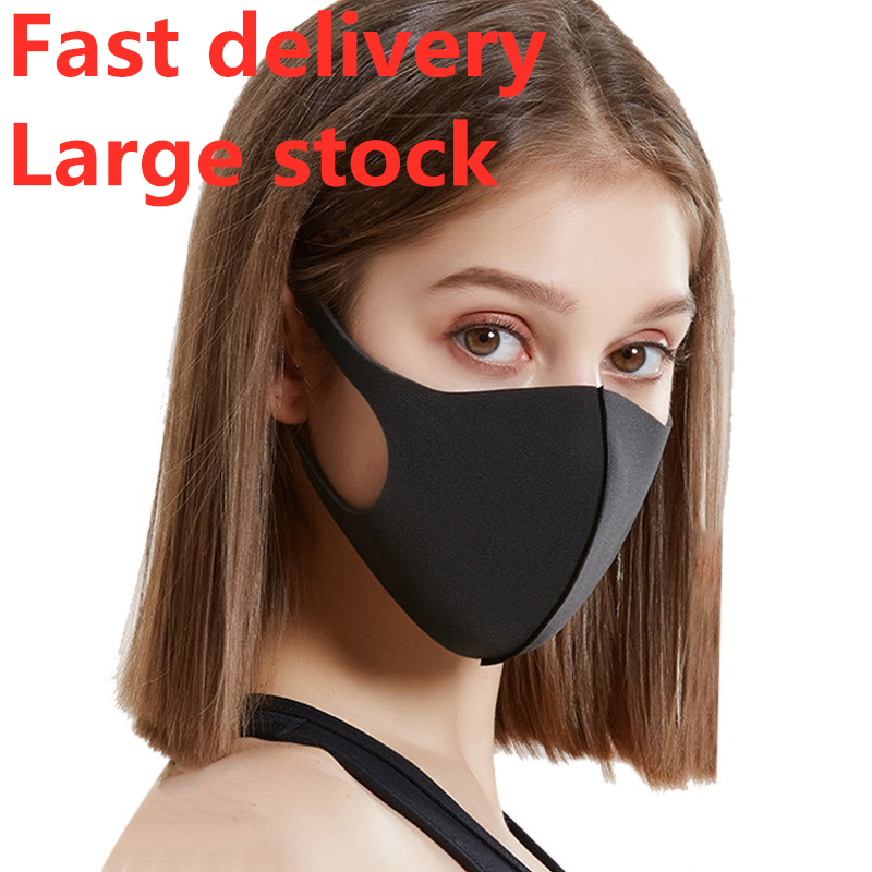 Same Day Shipping Winter Mask Anti Virus Mouth Face Mask Reusable Face Shield Women Men Sponge Face Mouth Masks Kpop Large Stock