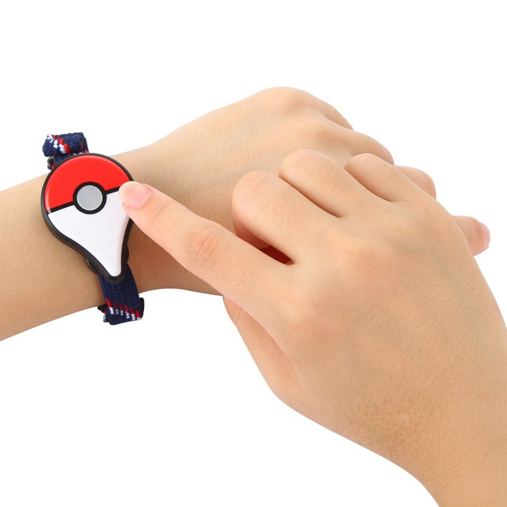 GENBOLI Couple Watch Compatible Bluetooth Bracelet Pokemon Go Plus Bluetooth Wristband Bracelet Game Accessory For Nintendo