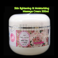 Aromatherapy Rose Essential Oil Massage Cream Bright skin Replenishment Mild Texture 500ml Beauty Salon
