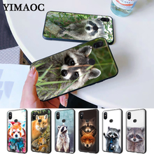 Raccoon red panda fox Silicone Case for Redmi Note 4X 5 Pro 6 5A Prime 7 8