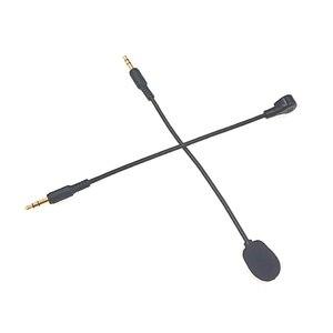 Image 4 - 3.5mm Mono/Stereo/4 polak HD mikrofon na słuchawki gamingowe bezpośrednie wtyczki mikrofon kondensujący na zestawy słuchawkowe bluetooth 190mm