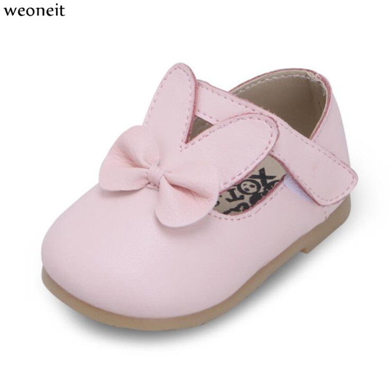 Girl Bow Party and Wedding Dress Shoes