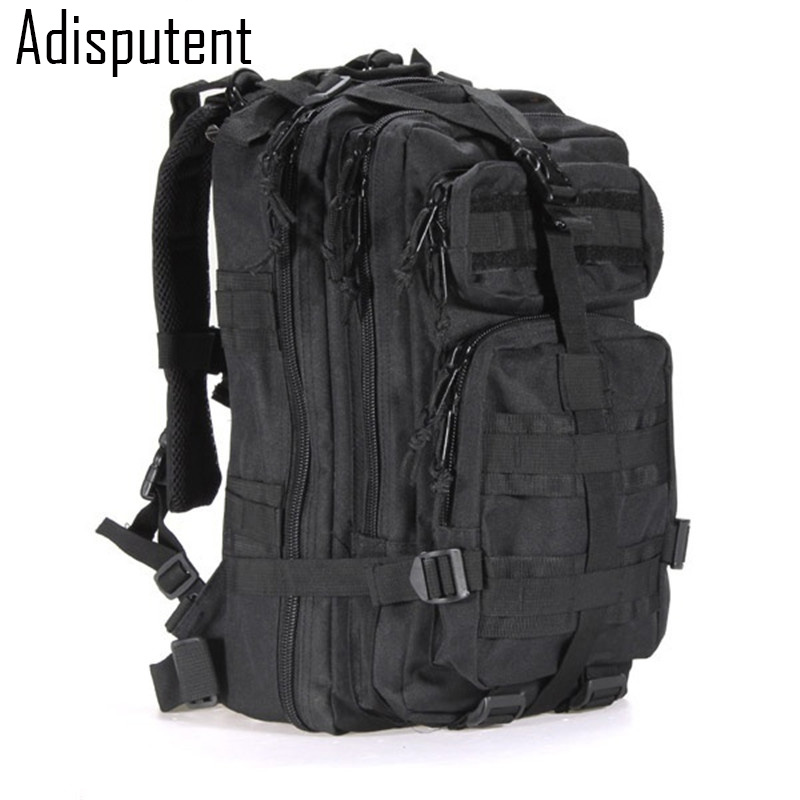 Adisputent 3P Waterproof Casual  Backpack Men Military Backpack  School Backpacks Multi- Men Travel Bags