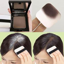 12g à prova d12 água sombra de cabelo pó borda controle 3 cores linha de cabelo em pó com puff maquiagem cabelo corretivo cobrir o cabelo com presente