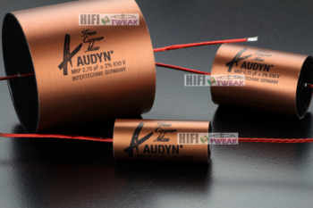 2pcs/lot Germany Audyn True Copper Max series copper foil fever grade audio frequency division coupling capacitor free shipping - Category 🛒 Electronic Components & Supplies