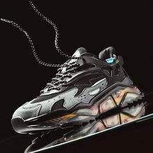 Мужские кроссовки для бега дышащие светильник кие уличные спортивные