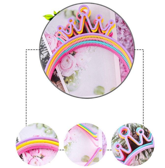 Multi Doce Princesa Coroa Headbands Childen Desenhos