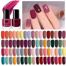 Nee jolie 73 cores esmalte para unhas, verniz colorido, decoração de unha, longa duração, modelo artístico