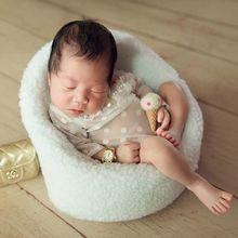 Neugeborenen Baby Fotografie Requisiten Mini Posiert Sofa Sitz Infant Foto Schießen Stuhl