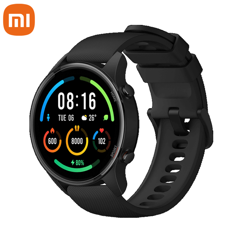 Xiaomi Mi Смарт часы кровяное давление GPS Смарт-часы Bluetooth, который надевается на кисть, для контроля пульса во время занятий фитнесом монитор 5ATM ...