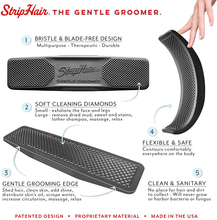 StripHair Gentle Groomer Horse Dog 6 In 1 Hair Removal Beauty Massage Horse Shaving Board Hair Removal Brush