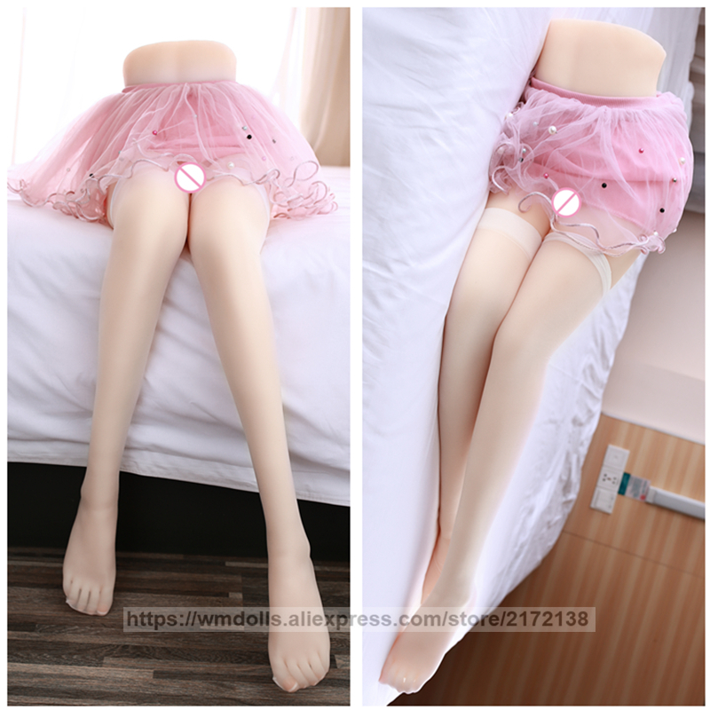 <font><b>90cm</b></font> Torso <font><b>Sex</b></font> <font><b>Dolls</b></font> for Men Masturbation TPE Adult Toys Sexy Leg Model Real Vagina Pussy Love <font><b>Doll</b></font> image