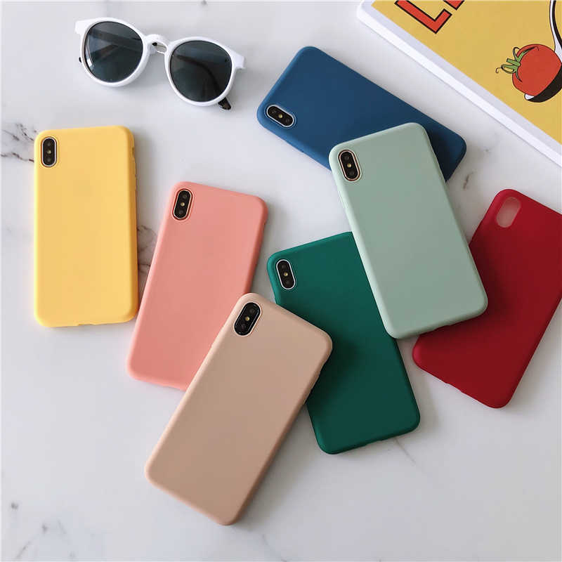 Slim Candy Case For Huawei Y9 Prime 2019 Y6 Y7 P10 P20 P30 Mate 20 Lite On Honor 20 Pro 10 10i 8X P Smart Z Case Silicone Cover