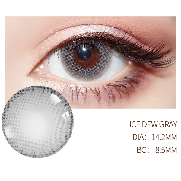 Diopter myopia Beautiful Pupil Color Contact Lenses Prescription Female Path 14.5mm Cute Multicolor Party Gift  Girl Cosplay 5