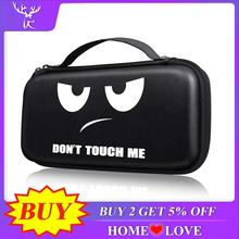 iBen Portable Hard Shell Case For Nintend Switch Water Resistent PU EVA Carrying Storage Bag For
