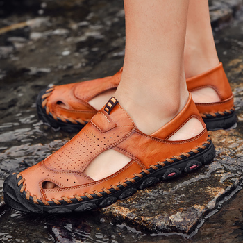 Beach Sandals For Men Men Fashion Sandals Sandalias Cuero Hombre Sandalia Masculina Couro Transpirables Deportivas