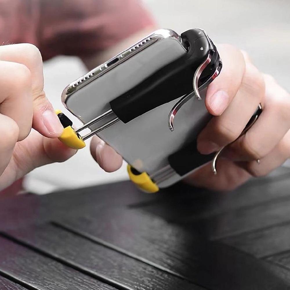 Мобильный контроллер, смартфон, игровой триггер для PUBG, геймпад, стрелок, ручка, джойстик, кнопка огня для iPhone, Android, игровой коврик Геймпады      АлиЭкспресс