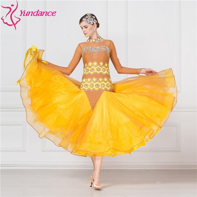 B-17205 New national standard ballroom competion dance dress, high quality ballroom competion dance dress