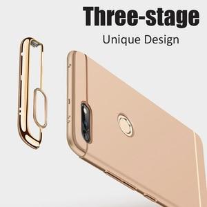 Image 2 - יוקרה ציפוי 3 ב 1 טלפון מקרה עבור Huawei Honor 30 20 10 9 8 לייט 8x 10i 20i מחשב קשה כיסוי לכבוד v10 v20 v30 פרו מקרה