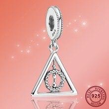 Jewelry Pandora Bracelet 925-Sterling-Silver Beads Dangle Charm Original Fit Hallows