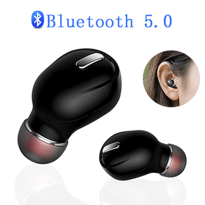 X9 Mini 5.0 Bluetooth Earphone Sport Gaming Headset with Mic Wireless headphones Handsfree Stereo Earbuds For Xiaomi All Phones