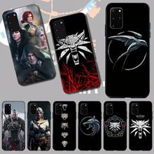 PENGHUWAN Wizard 3 Wild Hunt Game Soft Silicone Black Phone Case for