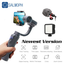 S5B Upgraded Version 3 Axis Handheld Gimbal Stabilizer Cellphone Video Record Smartphone Gimbal For phone Action Camera Vs H4