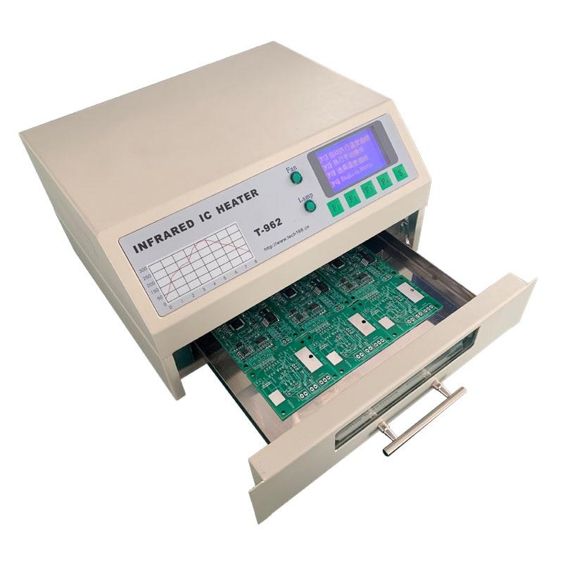 T-962 110V / 220V 800W Horno de reflujo de escritorio Máquina de - Equipos de soldadura - foto 2