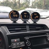Greddi-Medidor de Turbo Sirius, medidor de temperatura de aceite de escape, presión de aceite, RPM, velocidad, presión de combustible EGT, relación aire-combustible EGT, 7 colores