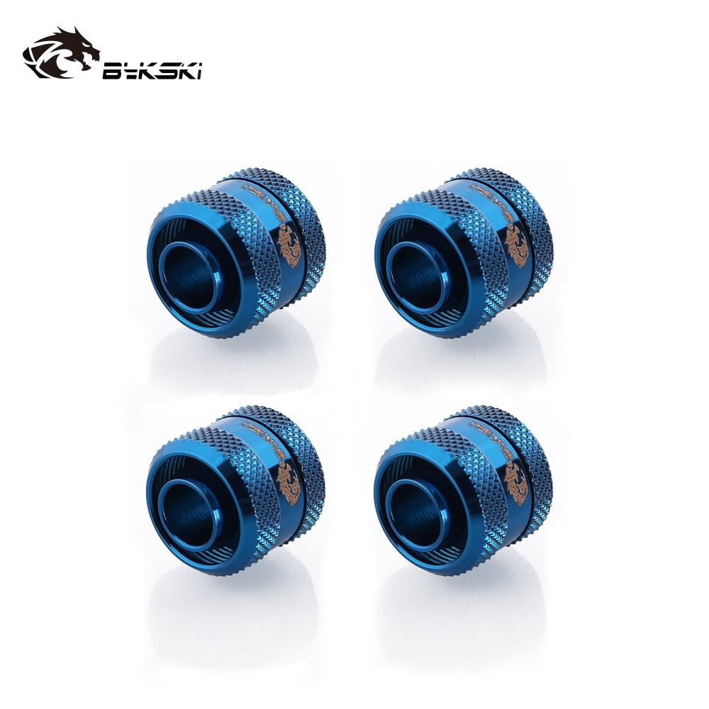 4pcs/lots Bykski Inside Diameter 13mm + Outside Diameter 19mm Hose / ID13mm + OD19mm Soft Tube / Hand Connector Fitting