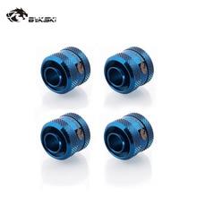 Bykski 4pcs/Lots Inside-Diameter Soft-Tube/hand-Connector-Fitting 13mm 13mm