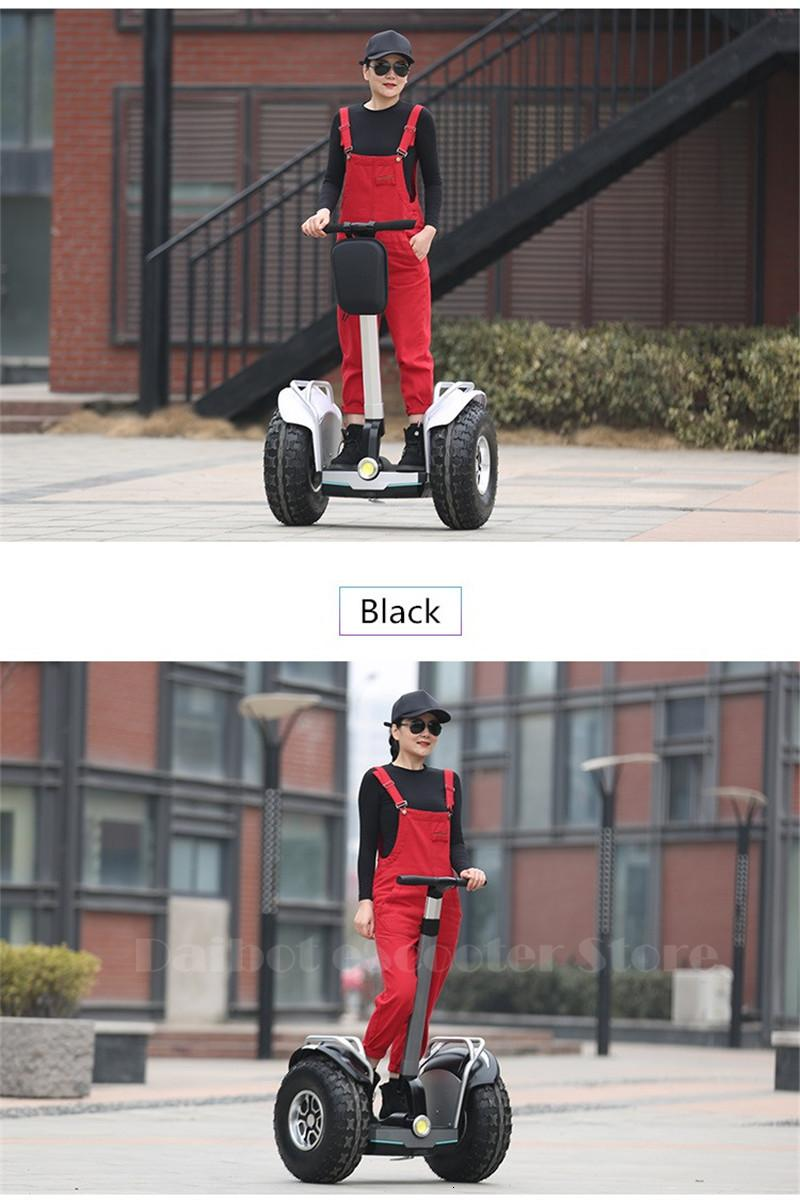 Daibot Powerful Electric Scooter 19 Inch Two Wheesl Self Balancing Scooters Off Road Hoverboard Skateboard For Adults (13)