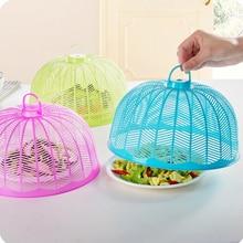 Многоразовые пластиковые покрытие стола круговой анти муха москитные кухонные инструменты для приготовления пищи сетчатые крышки для посуды