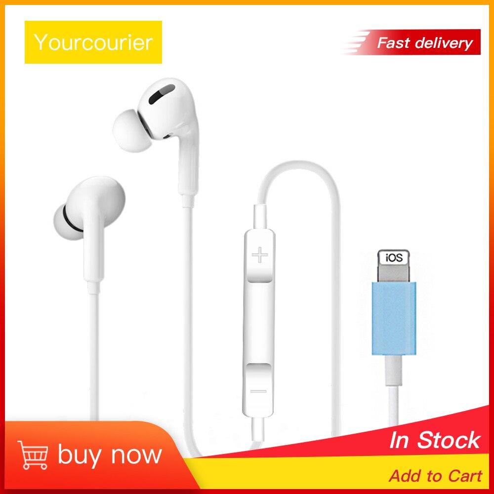 Проводные наушники для iphone, стерео, бас, HIFI Звук с микрофоном, bluetooth наушники для iphne 7 8 11 Plus X XS MAX XR iPod, оптовая продажа|Наушники и гарнитуры| | АлиЭкспресс