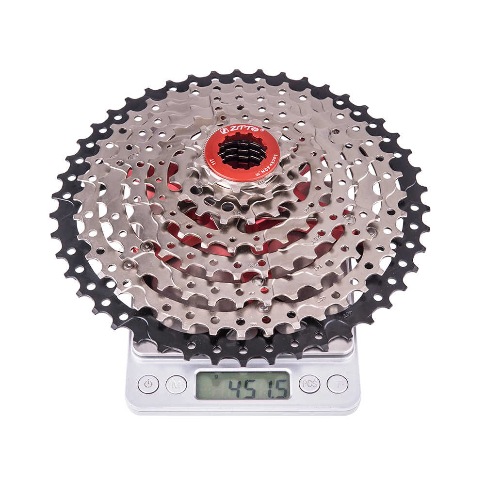 Mtb 8 Speed Cassette 8 S 11-46T Freewheel Mountainbike Breed Verhouding Staal Tandwiel Voor Onderdelen M310 tx35 K7 X4 Fiets Onderdelen
