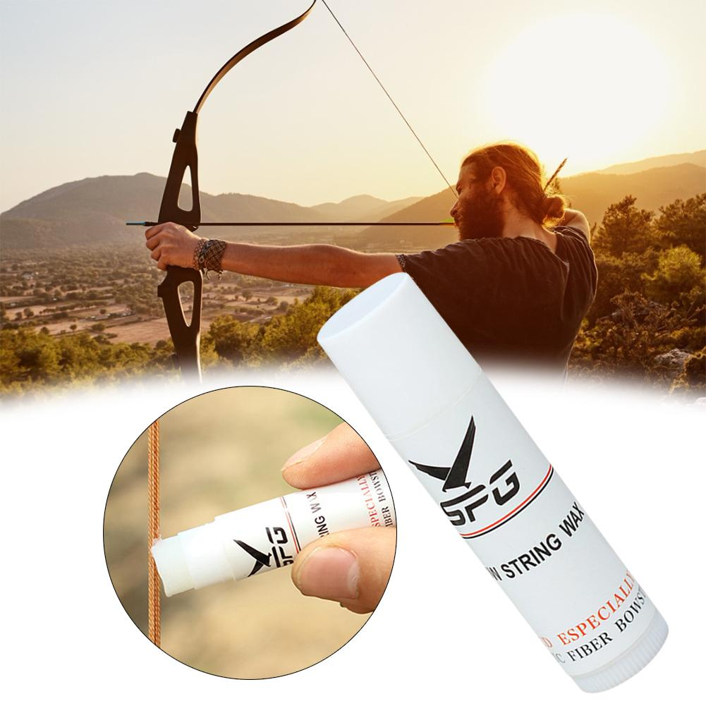 2 Pieces Archery Bowstring Wax Bow Strings Protect Rail Waxed Lube