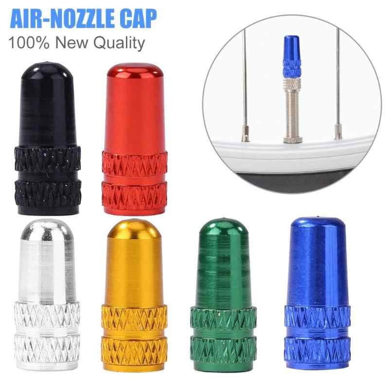 Durable Bicycle Valve Delicate Texture Outdoor Cycling Accessories MTB Bicycle Tire Gas Nozzle Valve Caps Protect Cover