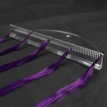 Harmonie Plus Haar 1 stuks Transparante kleur Desktop Acryl Haarverlenging Display Stand voor Haar