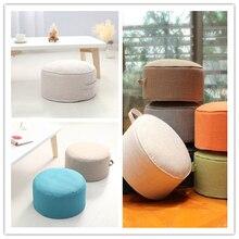 Дизайн, круглая высокопрочная губчатая подушка для сиденья, Подушка Татами, медитация, Йога, круглый коврик, подушки для стула