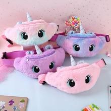 Waist-Bag Plush-Toy Fanny-Pack Kids Fashion Travel-Phone-Pouch Women