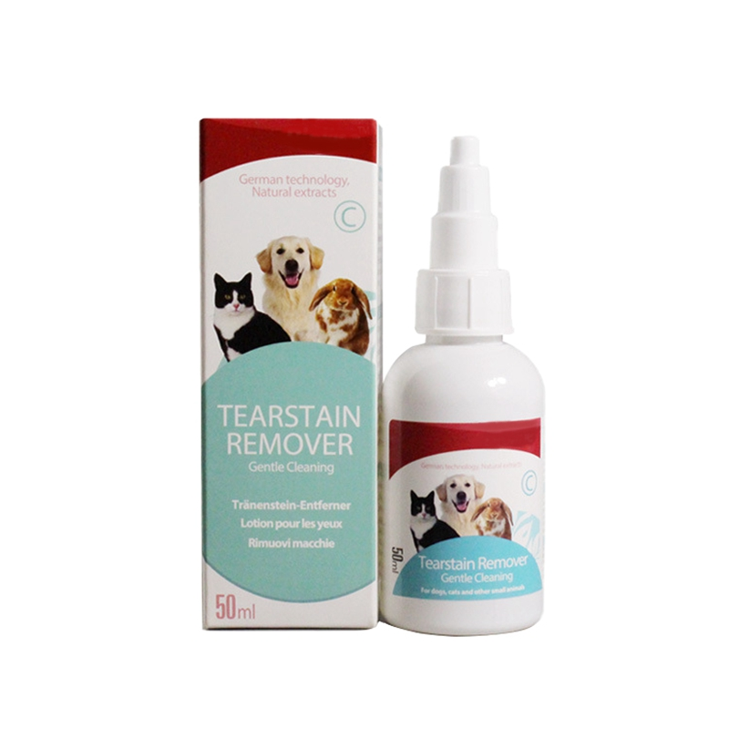New 50ml Pet Dog Cats Eye Drops Puppy Care Eye Cleaning Drops Pets Eyes Tear Stain Remover Dog Eye Health Care Grooming Liquid