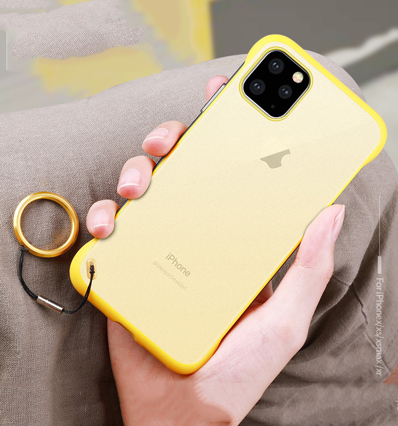 Frameless Slim Matte Hard Back Cases for iPhone 11/11 Pro/11 Pro Max 33