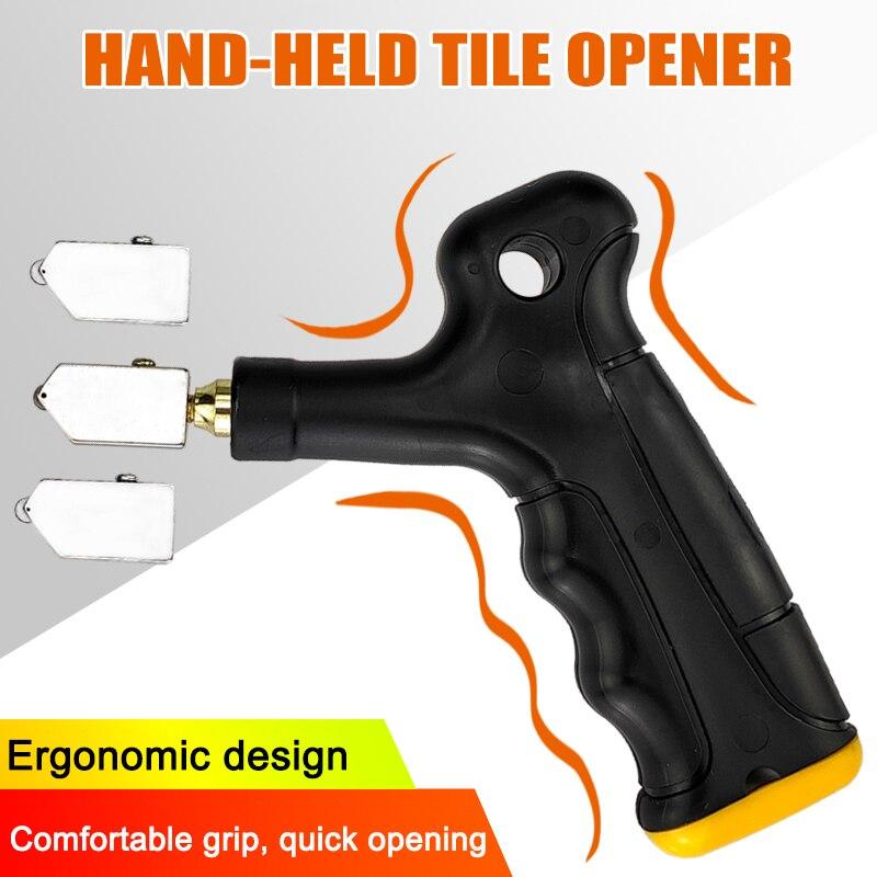 Hand-Held Glass Tile Opener User-friendly Wear Resistant Quickly Break Tiles DC156