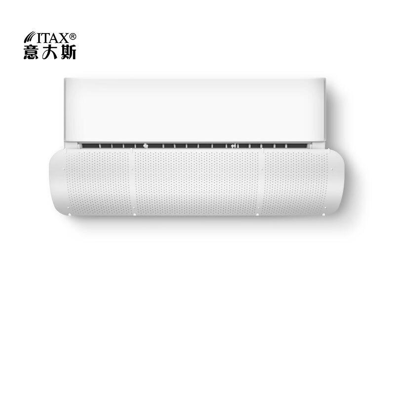 Fixado Na parede Condicionador de Ar Tampa Vento Defletor Defletor Casa Refrigerador de Ar Portátil Retrátil fácil de Limpar AC-32