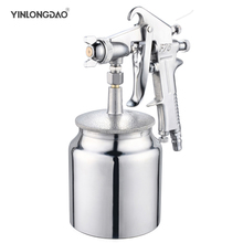 Professional Paint Spray Gun F75 Pneumatic Airbrush 1.5mm Nozzle Automotive Painting Tool Multifunction Spray Gun